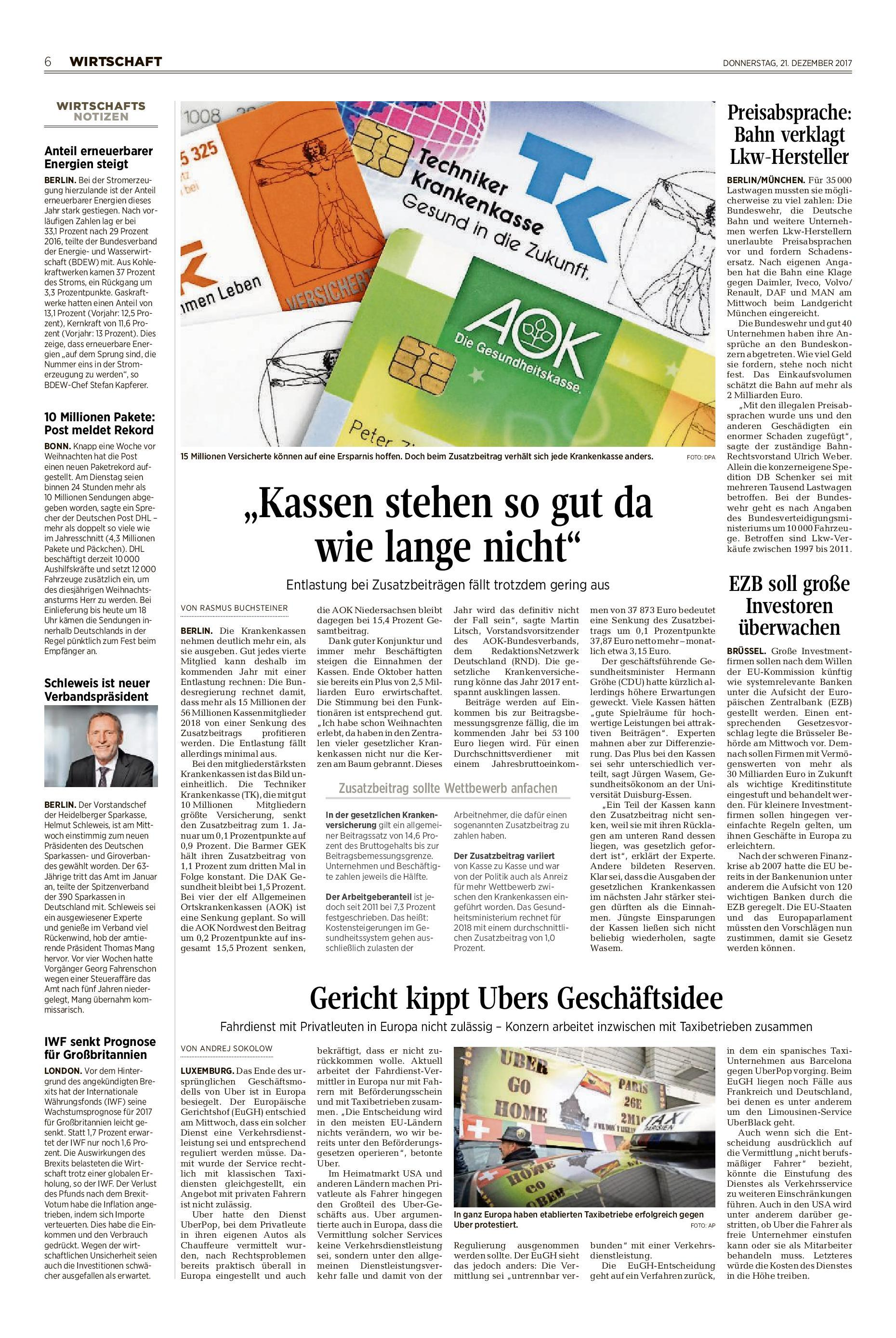 Zeitungsarchiv Neue Deister Zeitung
